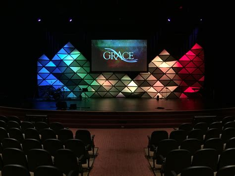 church stage designs 3d pyramids church stage design ideas
