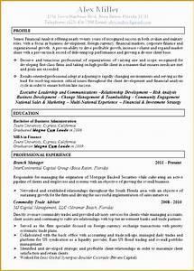 Food Service Resume 8 Executive Recruiter Resume Template Free Samples
