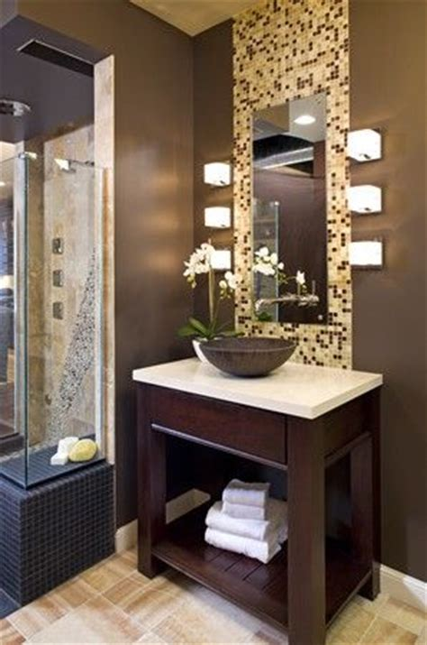 1000  images about Tile Wall Behind Mirror on Pinterest