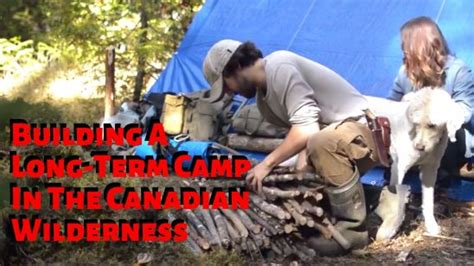 BUILDING A CAMP IN THE WILDERNESS - DOCUMENTARY - ALL WOMEN TV