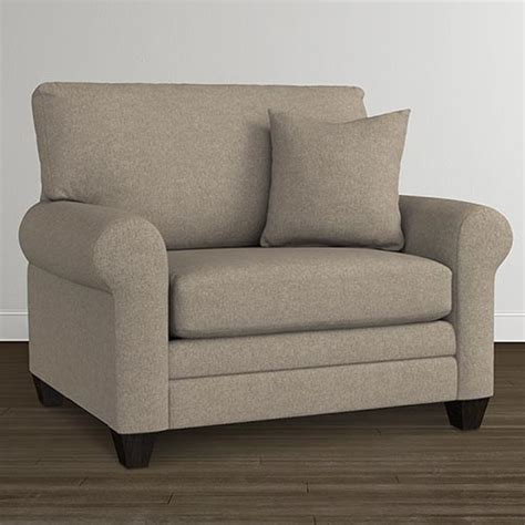 Large Armchair by Oversized Accent Chairs Living Room Furniture Bassett