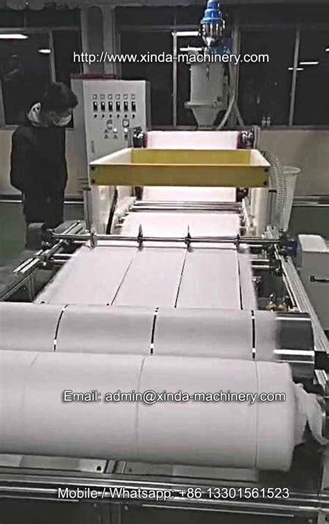 mm pp melt blown filter fabric machine xinda machinerypvc foam board production linepvc