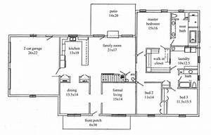 One bedroom apartment open floor plans contemporary with for Image of 3 bedroom plan