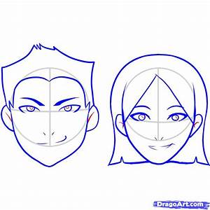 How to Draw a Face For Kids, Step by Step, People For Kids ...