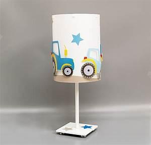 Lampe Chambre Garçon : lampe enfant des tracteurs pour suspensions et lampes garon ~ Teatrodelosmanantiales.com Idées de Décoration