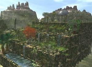 Seven Wonders of the World. Hanging Gardens of Babylon ...
