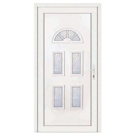 porte d entree 80 cm largeur porte d entr 233 e pvc ines poussant gauche 200 x 80 cm materiauxnet