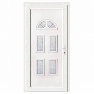 porte d39entree pvc ines poussant gauche 200 x 80 cm With porte d entree 80 cm largeur