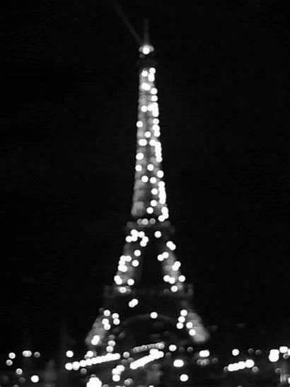Tower Eiffel Paris Night French Romantic France