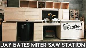 Building the Jay Bates Miter Saw Station Part 1 Crafted