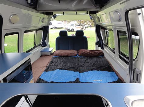 Toyota Hiace Hi5 Campervan Hire   Travellers Autobarn