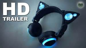 headphones with cat ears axent wear cat ear headphones hd
