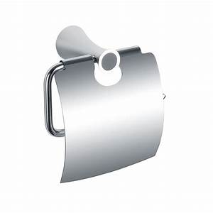 H003049250cp Chrome Single Post Paper Holder  Wall Mounted
