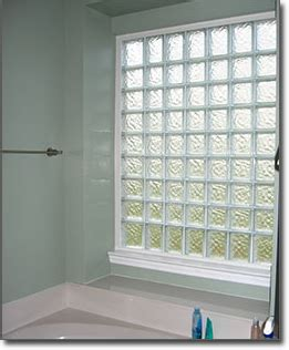 glass block bathroom windows houston glass block