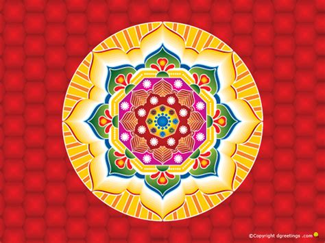 Beautiful Diwali Rangoli Wallpapers
