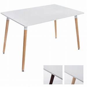 Tisch 80 X 120 Ausziehbar : clp ess tisch bjarne eckig holz beine 120 x 80 cm design mit bodenschoner m bel24 ~ Bigdaddyawards.com Haus und Dekorationen