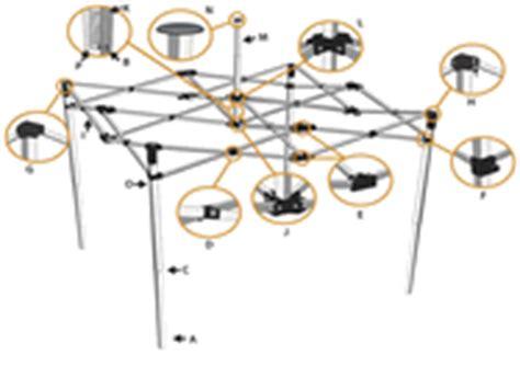quest pop  canopy replacement parts pyramid parts sc  st ez  canopies