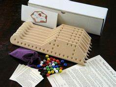 pattern for pegs and jokers game board - by goofy