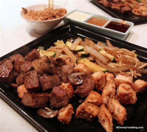 disney cuisine teppan edo the disney food