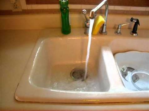 pringels can lid used as kitchen sink stopper youtube