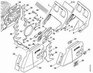 Stihl Ms 391 Parts Diagram