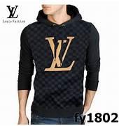 d500b2363073 louis vuitton hoody damier long sleeve men sweater black. authentic louis  vuitton blue denim pleaty ...
