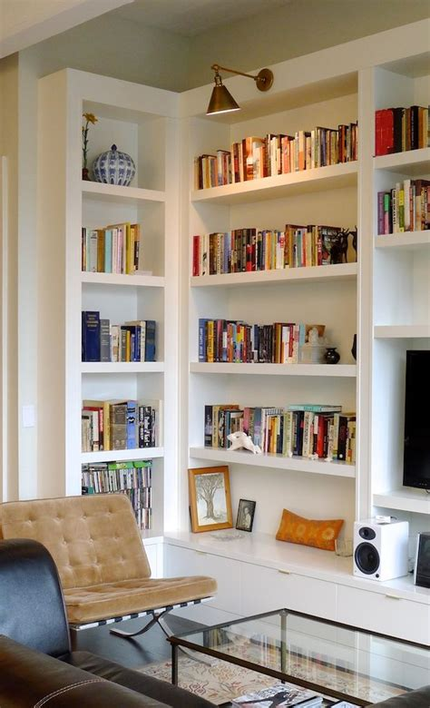 ideas for book shelves picture of built in bookshelves ideas for your home decor