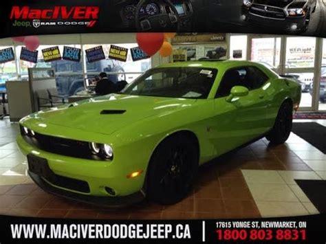 2015 Green Dodge Challenger Super Bee Scat Pack Newmarket