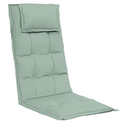 coussin pour chaise de jardin coussin confortable avec dossier pour chaise de jardin