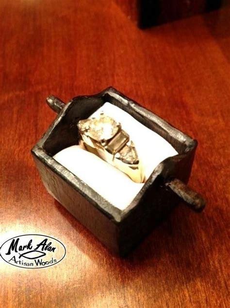 made custom engagement ring wedding ring box by mark alan artisan woods custommade com