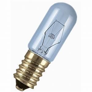 Ampoule De Frigo : ampoule tube incandescente pour frigo15w 100lm e14 2700k ~ Premium-room.com Idées de Décoration