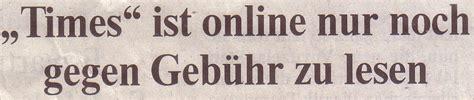 """Welt, 270310, Titel """"times"""" Ist Online Nur Noch Gegen"""