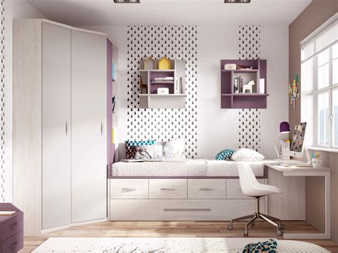 chambre fille moderne