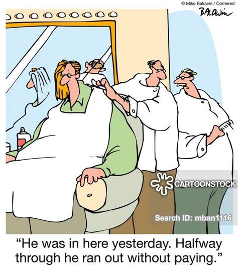hair salons cartoons  comics funny pictures
