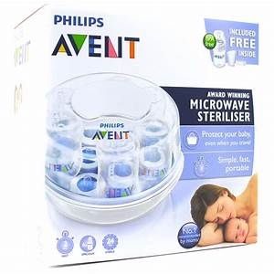 Avent Bottle Sterilizer Microwave Instructions