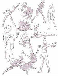 Human Pose Practice 1 By Joulester On Deviantart