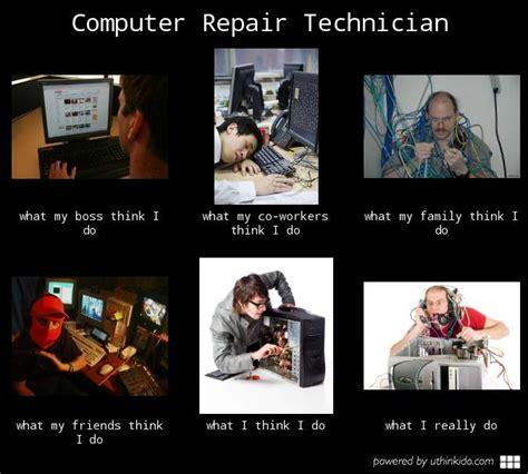 Computer Repair Meme - fixing computer tech quotes quotesgram