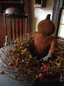 primitive fall decor fall