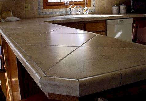 Kitchen Countertop Tile Design Ideas (kitchen Countertop