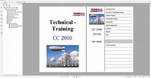 Terex Demag Crawler Crane 250-1250t Technical Service Training Manual Diagram - Homepage