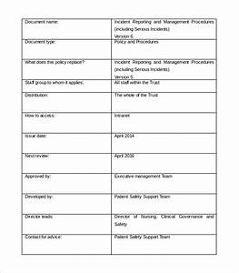 27 images of quarterly asset report template excel With incident management document