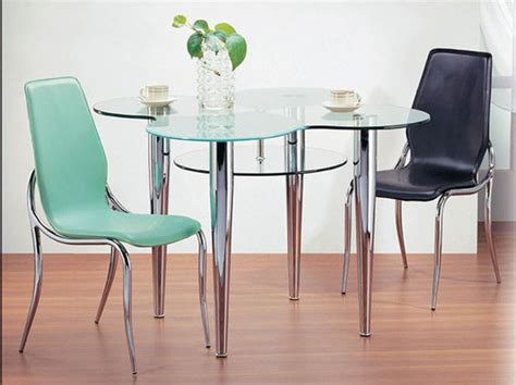 clear glass dining table and 4 chairs exquisite clear glass top leather table and four chairs