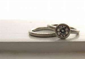 unique engagement rings wedding bands from etsy platinum With engagement rings and wedding bands