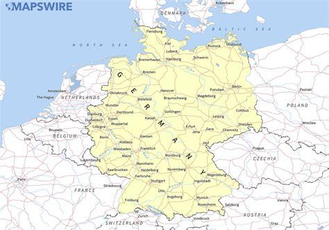 maps  germany mapswirecom
