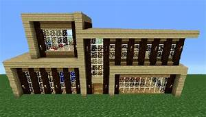 Minecraft 360: Modern House Tutorial (House Number 5 ...