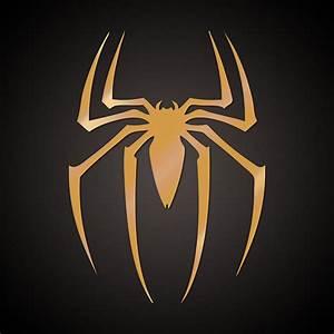 Spiderman golden movie logo by freeco on DeviantArt