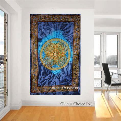 unique home decor wall hanging mandala celtic multi colour tapestry