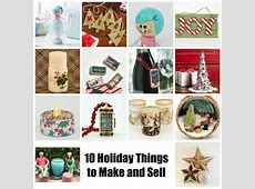 10 Holiday Crafts to Make and Sell Mod Podge & Mod Melts