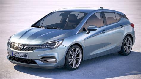 Opel Astra 2020 3D model   CGTrader