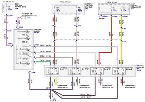 Upfitter Switches Wiring Diagram